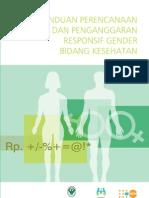 Pedoman Perencanaan Dan Penganggaran Responsif Gender Bidang Kesehatan 20101