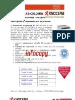 Toner para impresora Kyocera FS-C5100DN