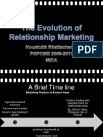 evolution of relationship marketing