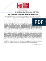 Edoardo Raspelli e Melaverde alla scoperta del Variegato di Castelfranco IGP