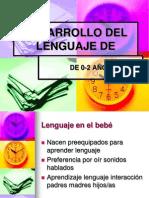 desa. lengua 0-2 años PowerPoint