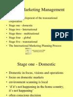 stages in internationak marketing.ppt