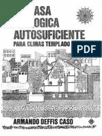 LA CASA ECOLÓGICAMENTE AUTOSUFICIENTE