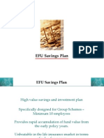 EFU Savings Plan