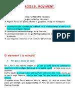 Tema 7 Les Forces i El Moviment