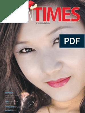 Tahan Times Journal- Vol  1- No  11, Nov 29, 2011