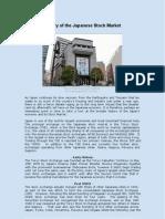 History of the Japanese Stock Market