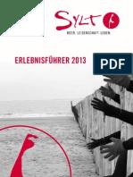 Erlebnisführer 2013