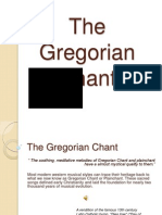 The Gregorian Chant