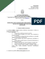 Bolvi iniciativu projekta konkursa nūlykums