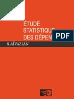études statistiques des dépendances