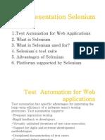 Selenium-Presentation
