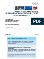 coconut processing proposal