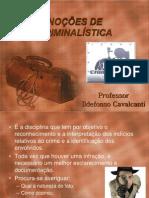 NOÇÕES+DE+CRIMINALÍSTICA