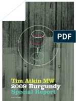 Tim Atkin Wine Report Burgundy 2009
