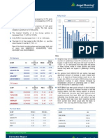 Derivatives Report, 25th January 2013