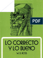Ross W D - Lo Correcto Y Lo Bueno