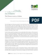 Rbpo PDF Rbpo Segredo Chines Indiano