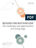 Beyond the bottom line