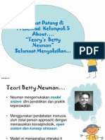 Ppt Teori Betty Neuman