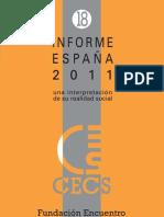 El deporte en España. Un enfoque sociológico. 2011