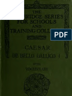 Cesar, De Bello Gallico
