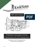 AW 450 kwicknotes