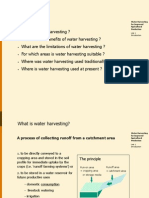 Introduction to Water Harvesting