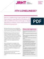 Living With Loneliness