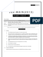 JEE-MAIN_Part Test - 1_Paper