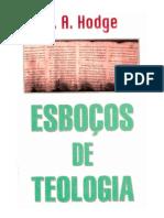 Esboços de Teologia - A. A. Hodge