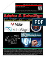 Adobe and EchoSign - Blackboxes of the NSA Shadow Intelligence Network