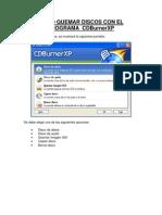 Manual Cdburnerxp