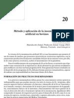 Metodo y Aplicacion de La Inseminacion Artificial en Bovinos