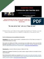 Formacion Zen Tantra 2013-Maestro Firak