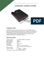 Antenner Tuner - Cg3000N