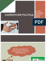 CORRUPCIÓN POLÍTICA