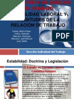 Presentacion Estabilidad y Vicisitudes de la Relacion de Trabajo1.pptx