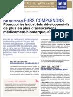 Les Essentiels -  Biomarqueurs Compagnons