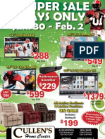 Cullens TV Super Sale 4 Days Only