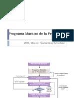 3 Programa Maestro