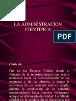 La Administracion Cientifica[1]
