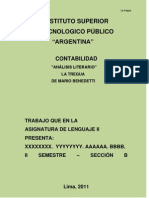 Monografia La Tregua Terminad0