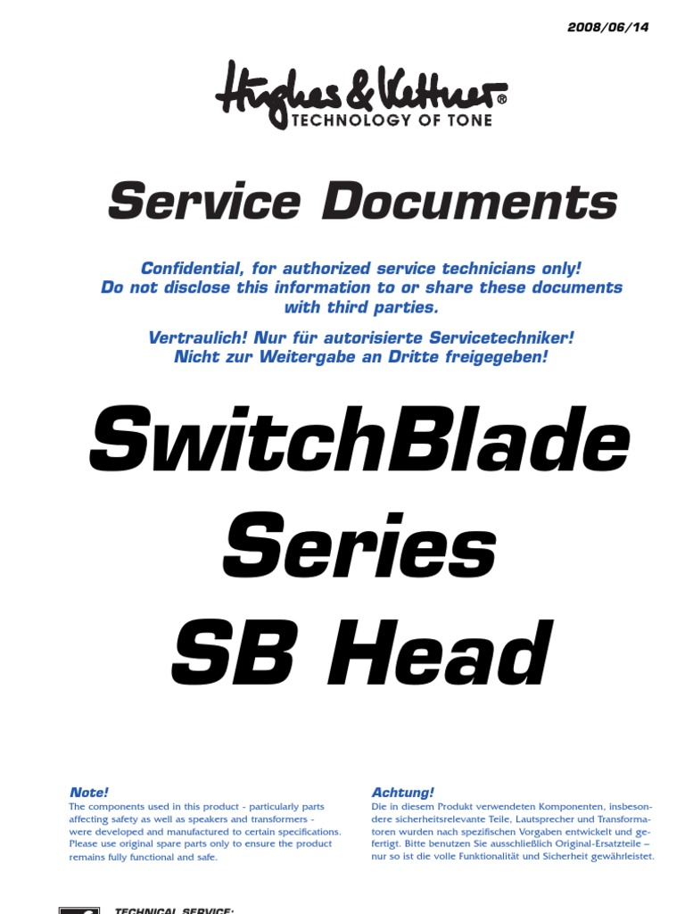Switchblade 100 Service Manual.pdf | Electrical Connector ...