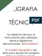 CALIGRAFIA TÉCNICA  PDF