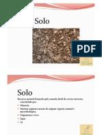 7. Características Físicas, Químicas e Biológicas do so