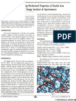 Predicting Mechanical Properties of Ductile Iron Casting