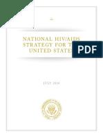 NATIONAL U.S. HIV/AIDS STRATEGY