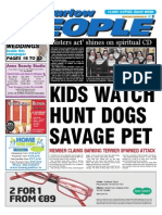 Pet savaged by hunt hounds