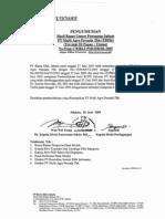 20050628 TRPK HR 178 PSR-Hasil RUPS Tahunan 23062005(FILEminimizer)